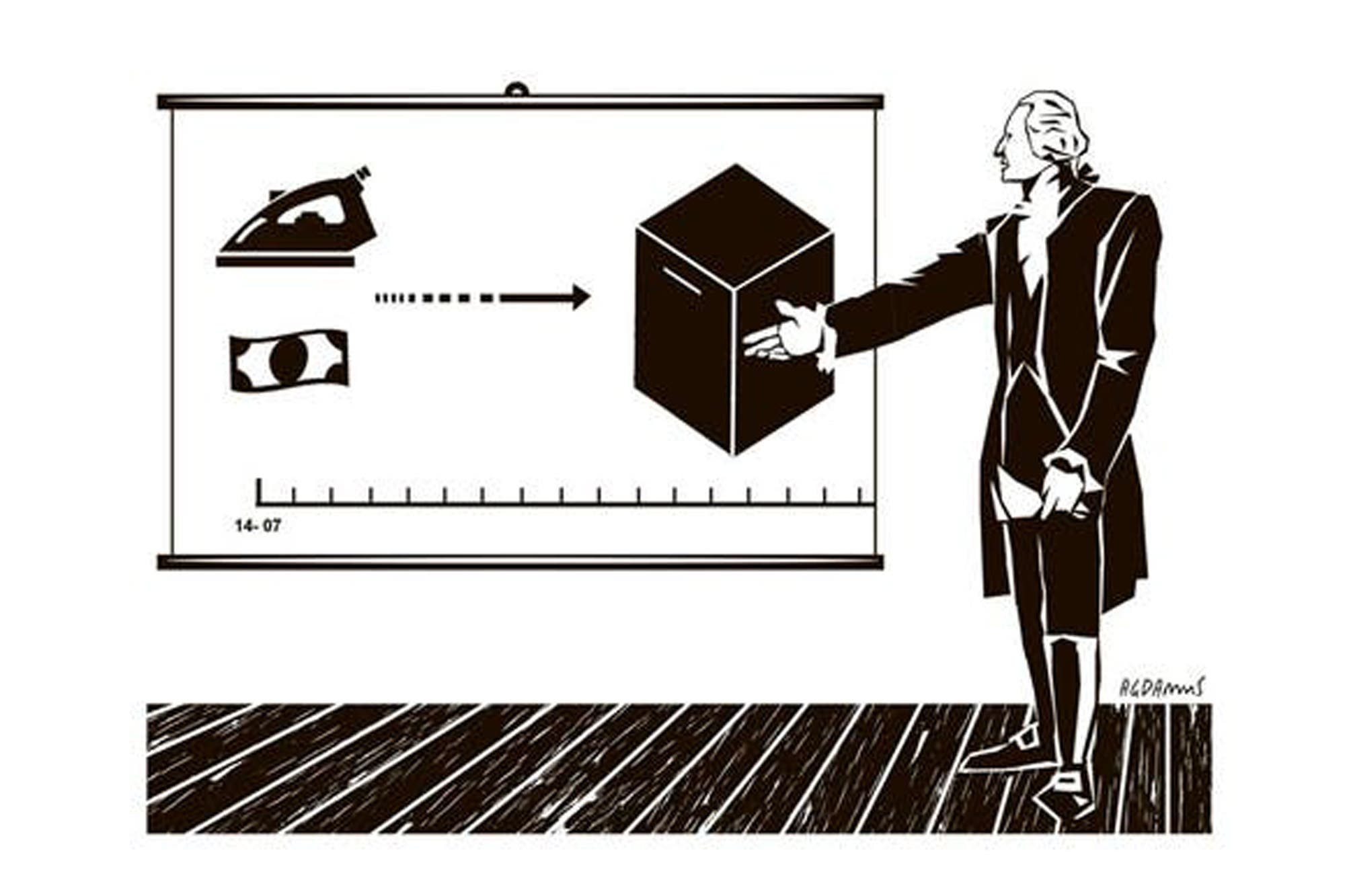El dólar como jefe de la campaña electoral