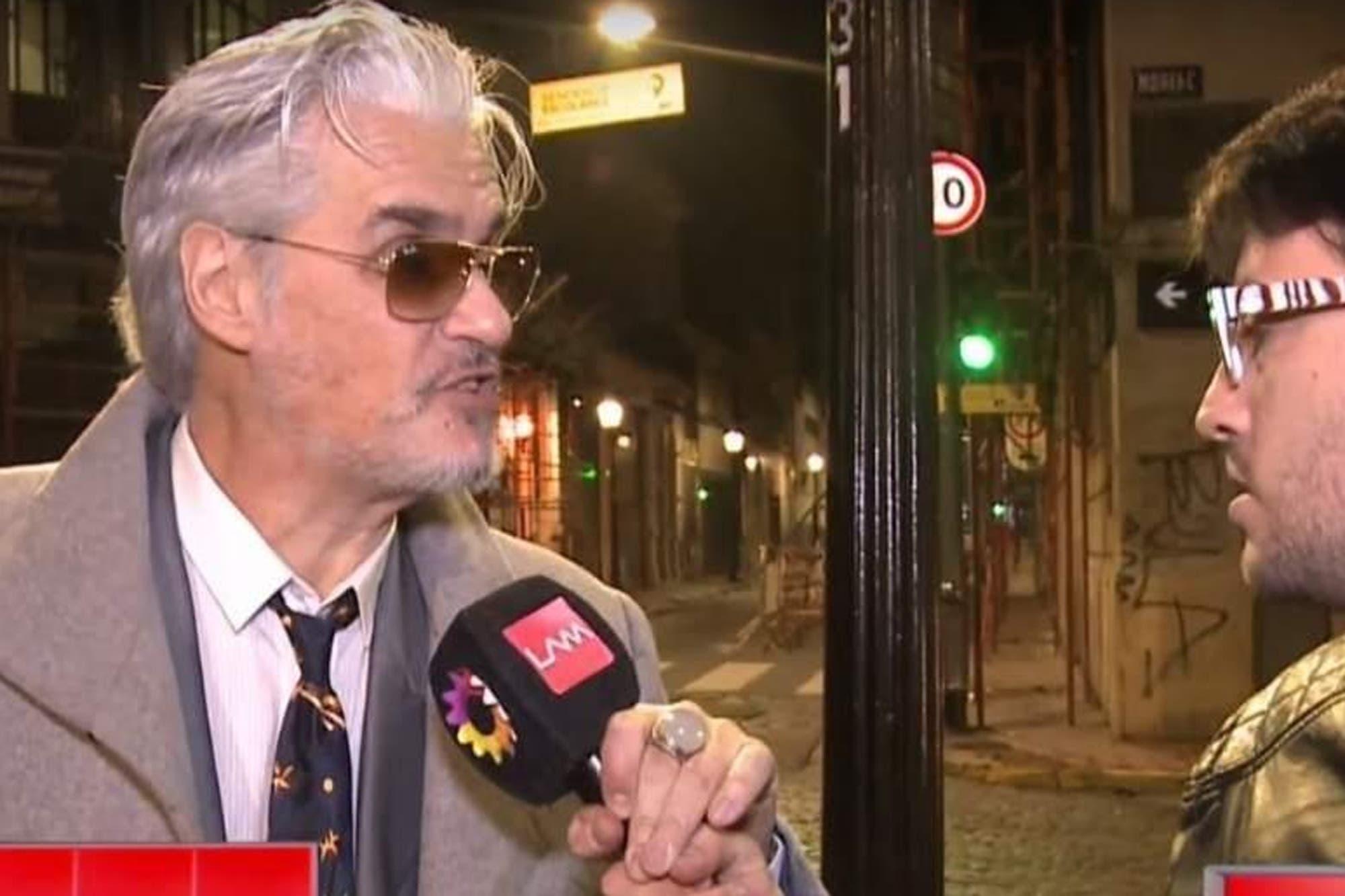 El enojo de Roberto Pettinato, al ser consultado sobre las acusaciones de acoso sexual en su contra
