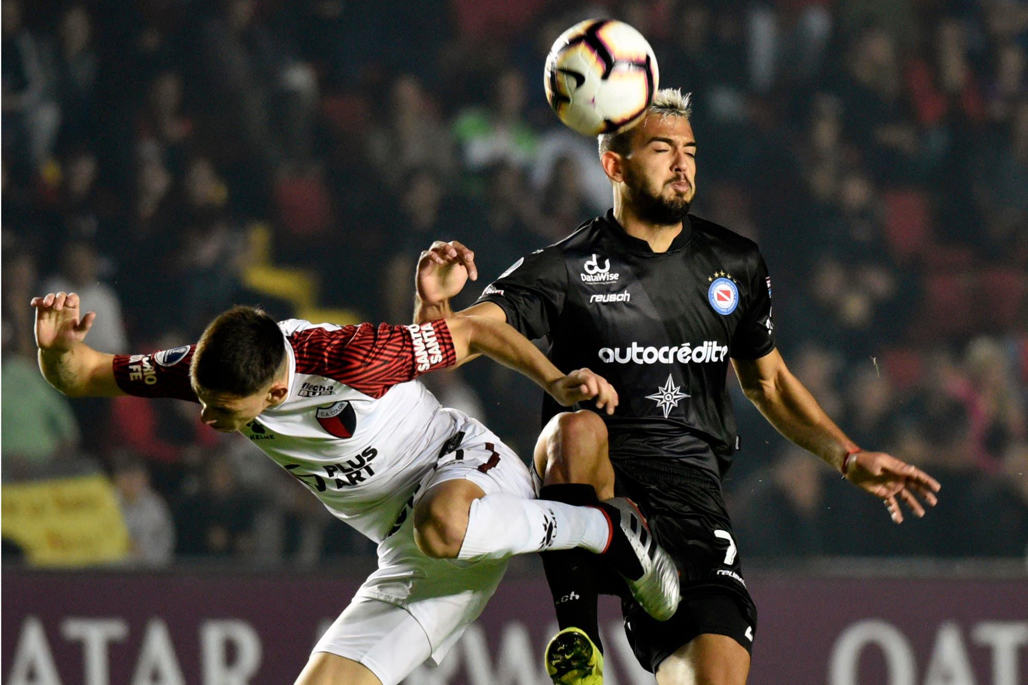 Argentinos-Colón, por los octavos de final de la Copa Sudamericana: horario, TV y formaciones