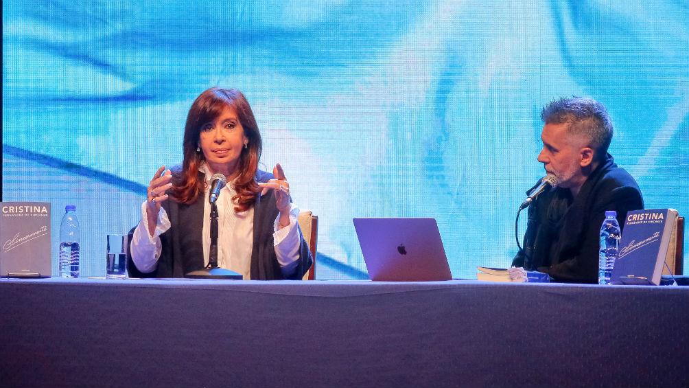 """Cristina Kirchner: """"Soy una dirigente que le preocupa el bienestar de todos los argentinos"""""""
