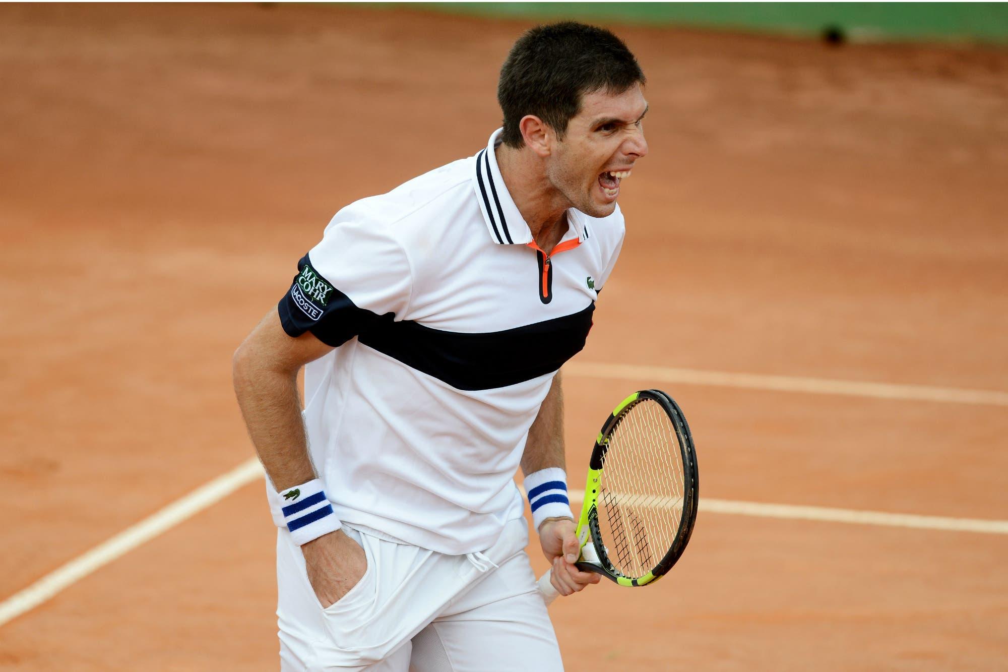 Después de Wimbledon, dos semifinalistas argentinos, pero en polvo de ladrillo