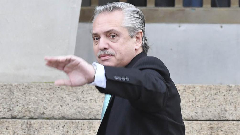 """Alberto Fernández: """"Lo que más preocupa es ver a un presidente ratificar el rumbo"""""""