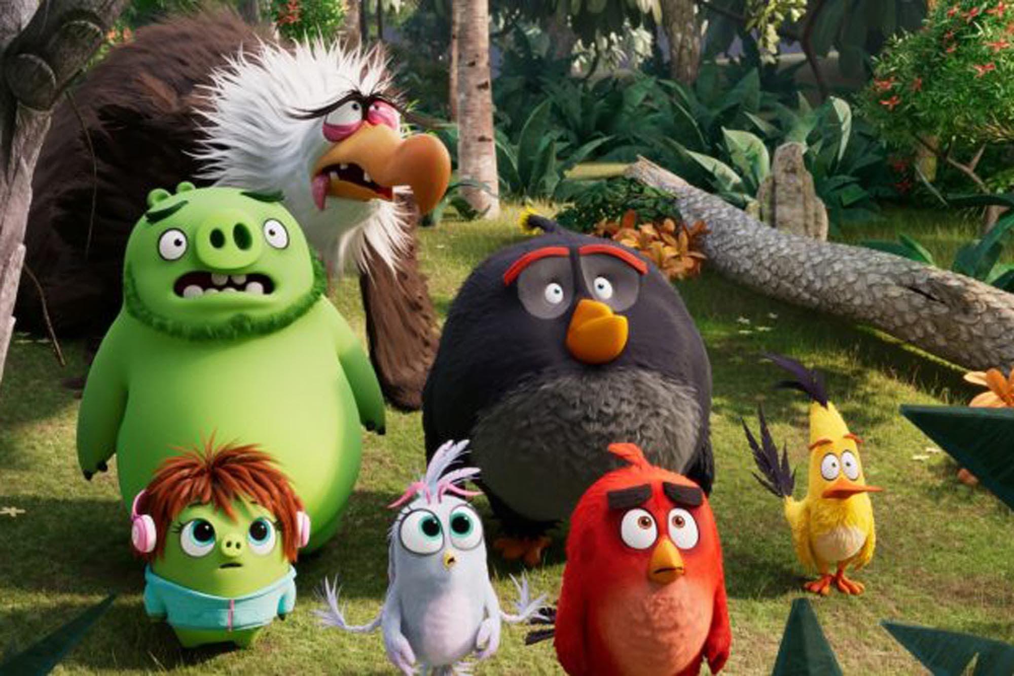 Angry birds 2: regreso de los pájaros salvajes