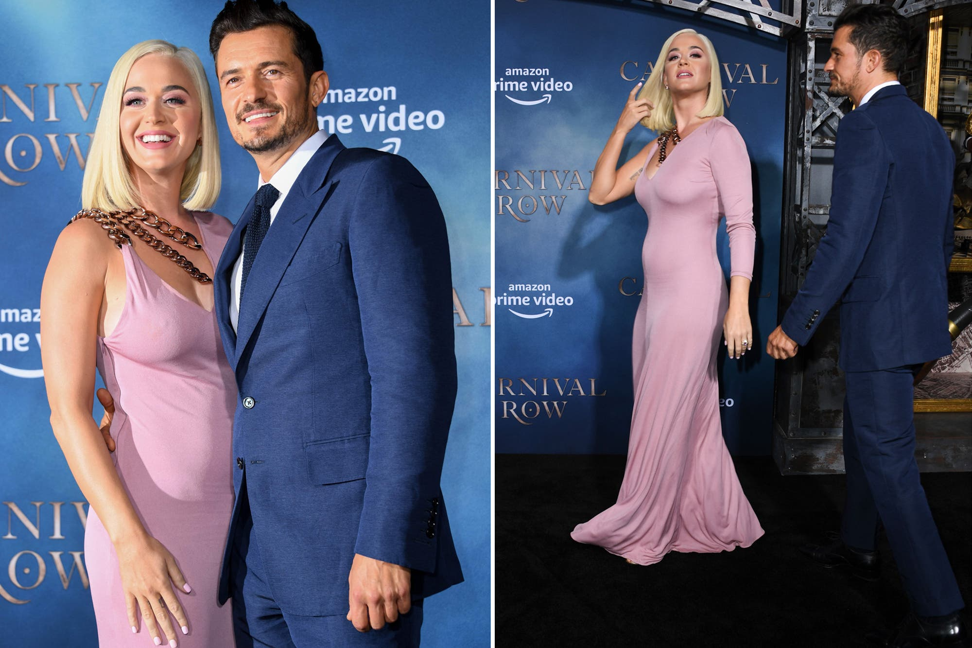 Katy Perry y Orlando Bloom despertaron rumores de embarazo