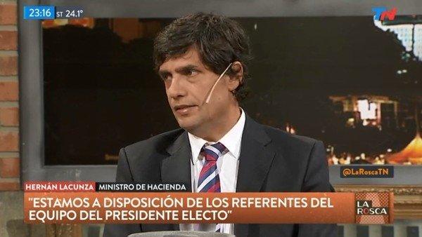 Hernán Lacunza habló de la deuda y las reservas que le quedan al próximo gobierno