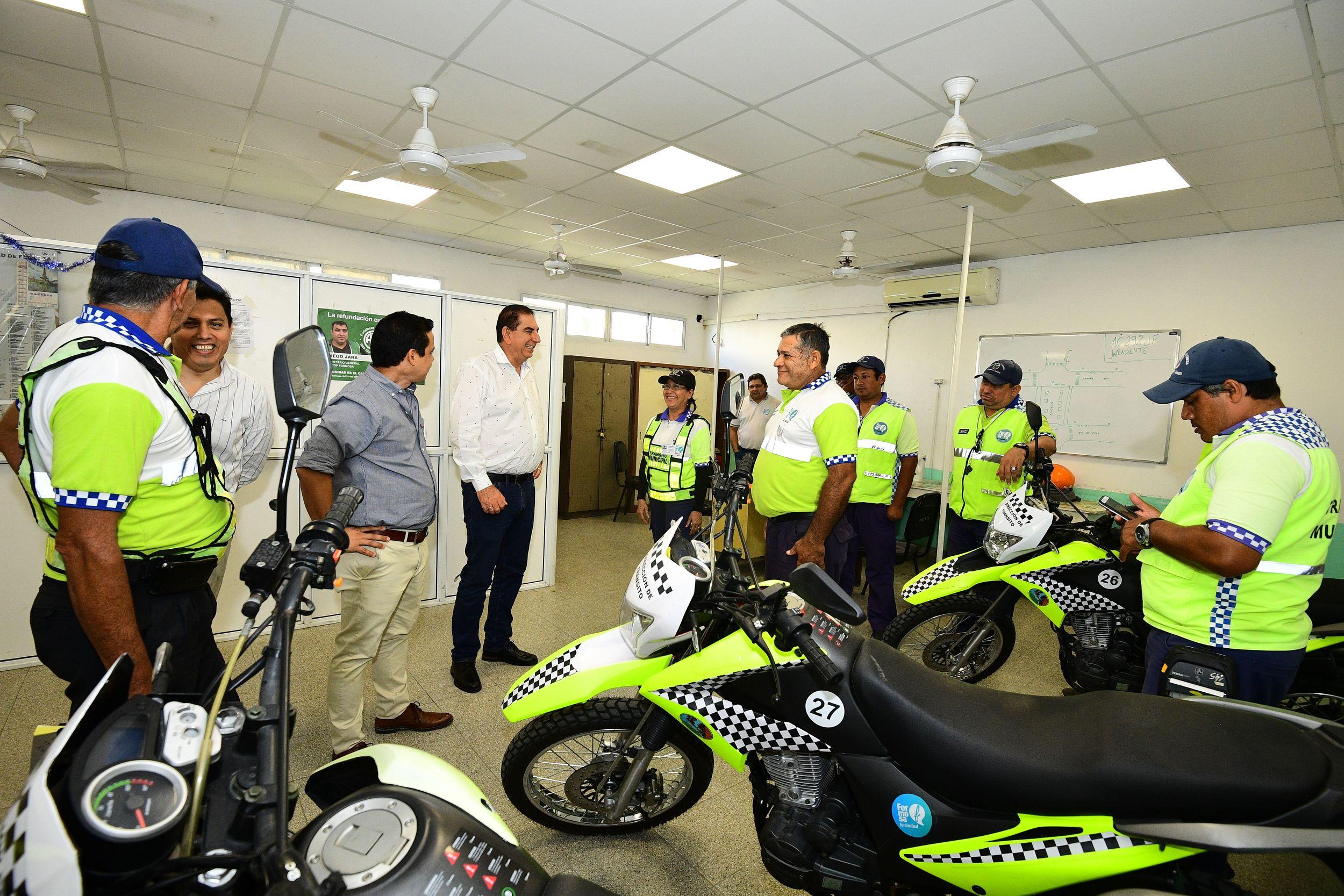Jofré resaltó el rol de los agentes municipales de transito