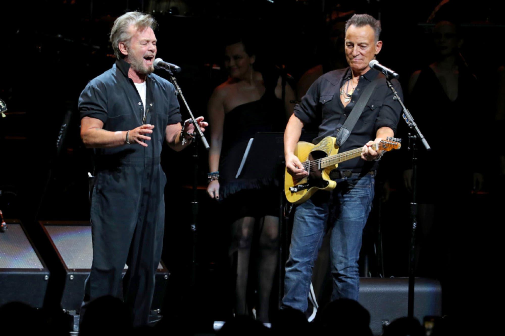 Sting, Eurythmics y Bruce Springsteen protagonizaron una noche ochentosa en el concierto benéfico Rainforest