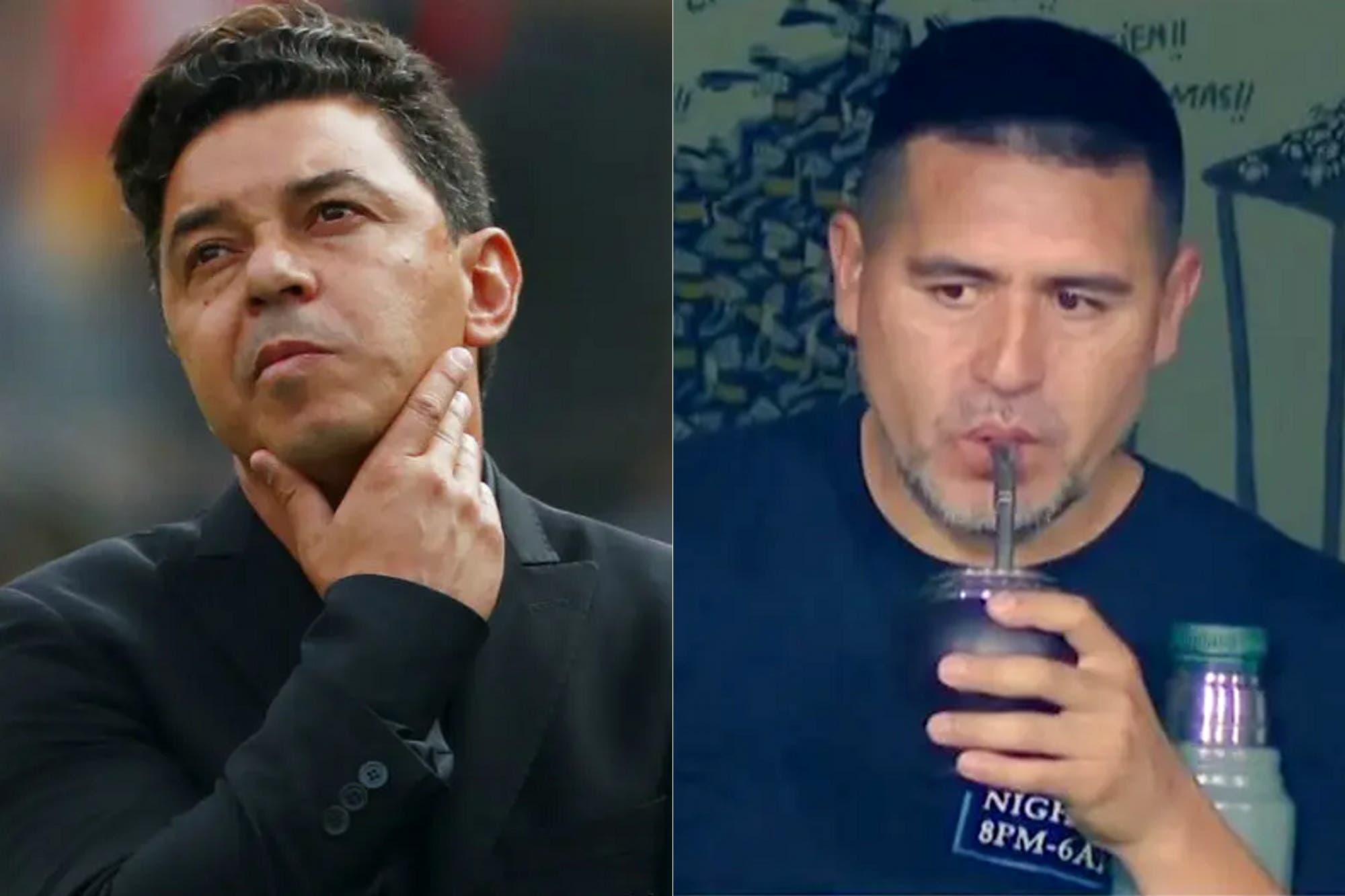 """""""Gallardo tiene toda la prensa a favor y Riquelme todos los cuestionamientos"""", la comparación de un periodista entre los dos ídolos"""