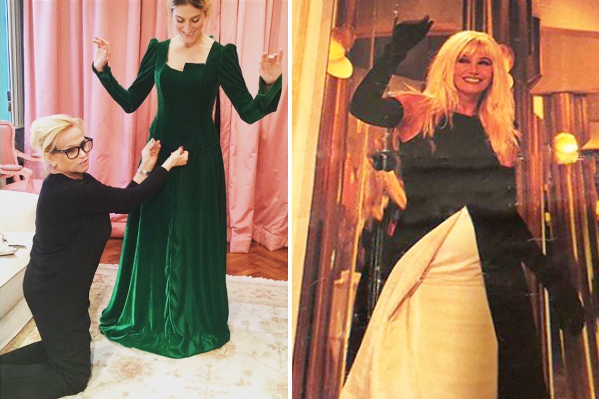 """Los diseños emblemáticos de Elsa Serrano: del vestido de novia de Claudia Villafañe a ser """"la modista del poder"""""""