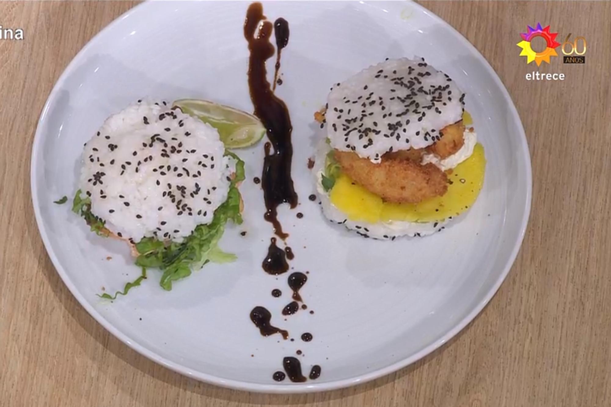 El gran premio de la cocina: el éxito inesperado de las hamburguesas de sushi