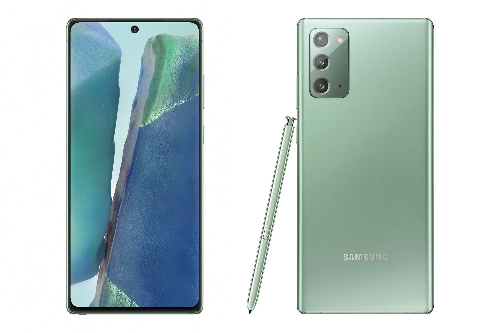 Galaxy Note20 y Note20 Ultra: Samsung pone en venta sus smartphones en la Argentina
