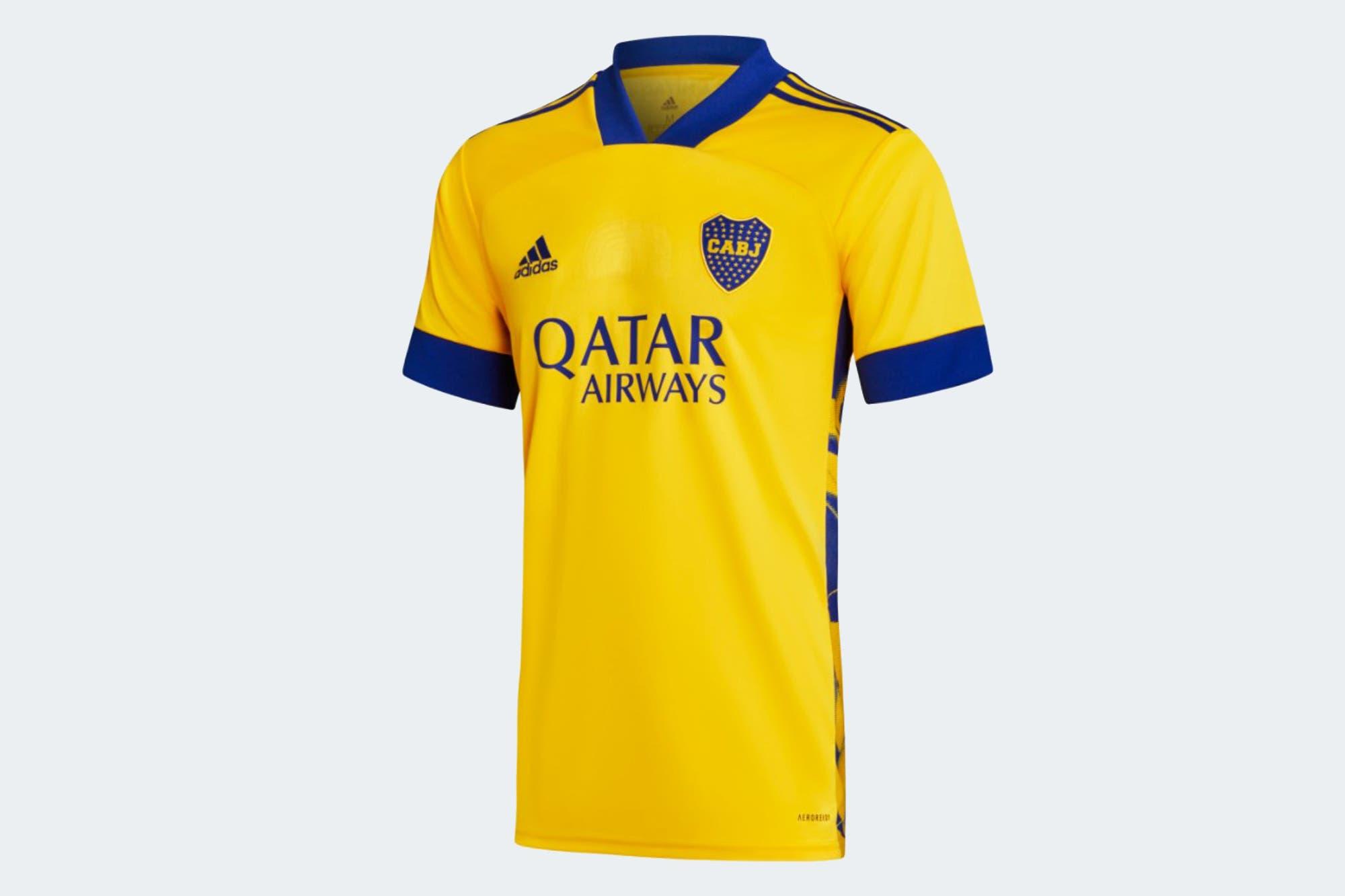 La nueva camiseta alternativa de Boca: el homenaje a los 80 años de la Bombonera