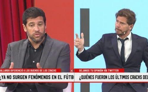 """Sebastián Domínguez dejó mudo al Pollo Vignolo: """"Sin lesiones, Aimar era más que Riquelme"""""""