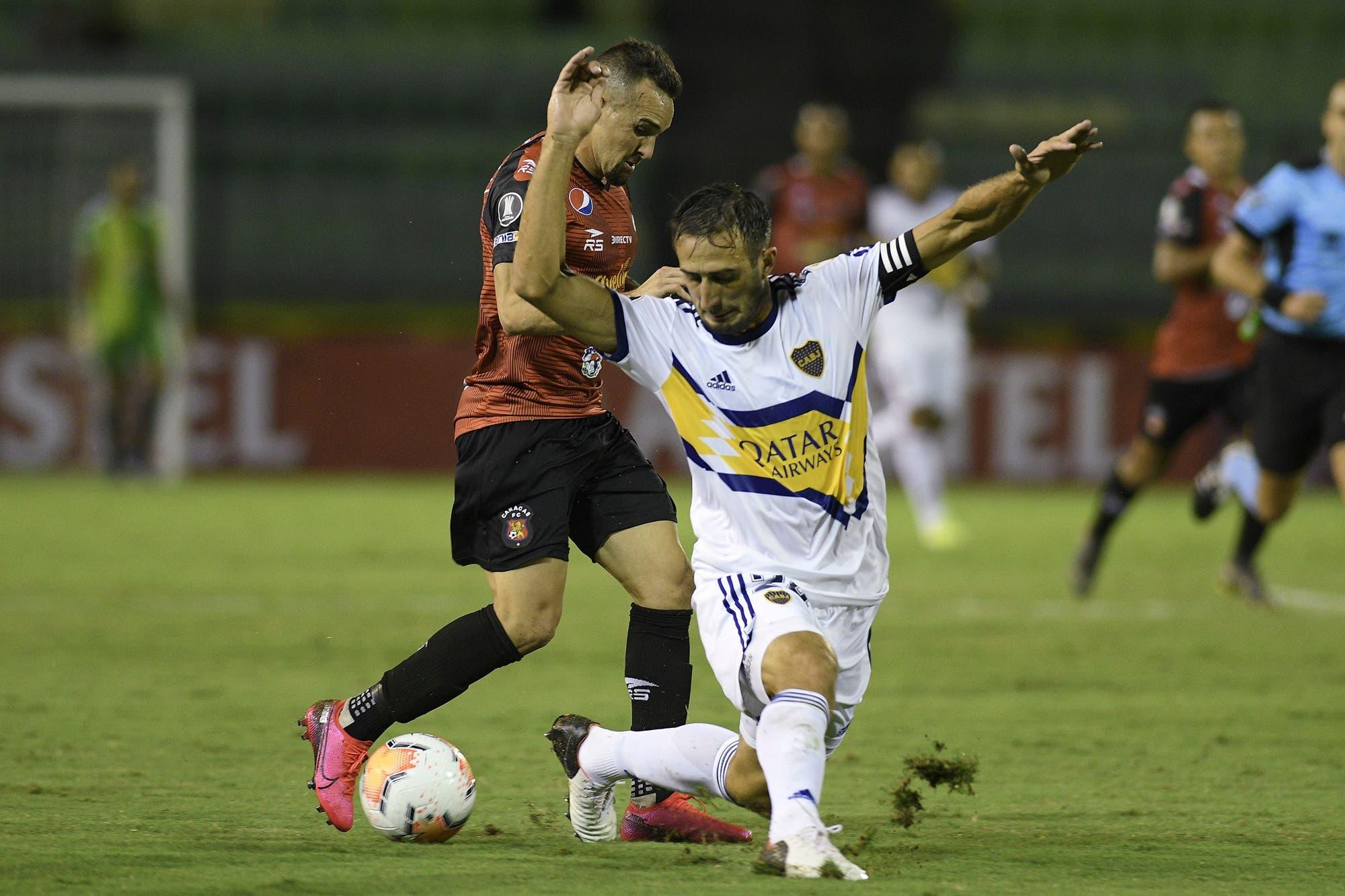 Boca-Caracas: horario, TV y formaciones del partido por la Copa Libertadores