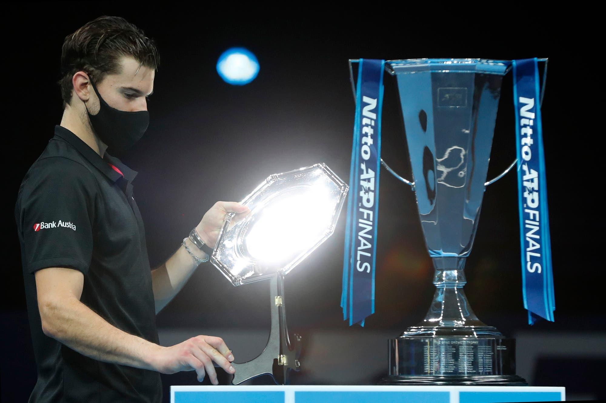 Daniil Medvedev venció a Dominic Thiem: se consagró campeón del Masters de Londres en un gran final de temporada