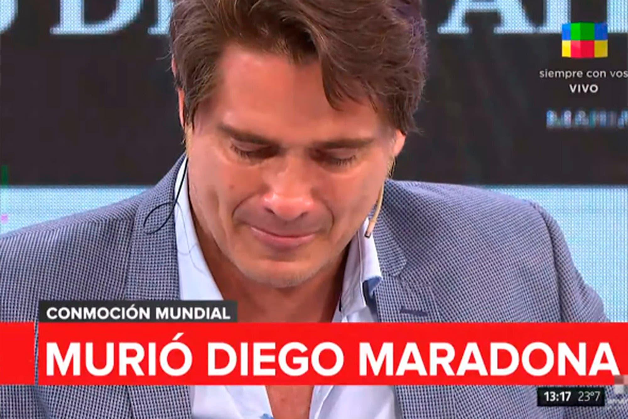 La muerte de Diego Maradona: el llanto de Guillermo Andino y la anécdota de Toti Pasman