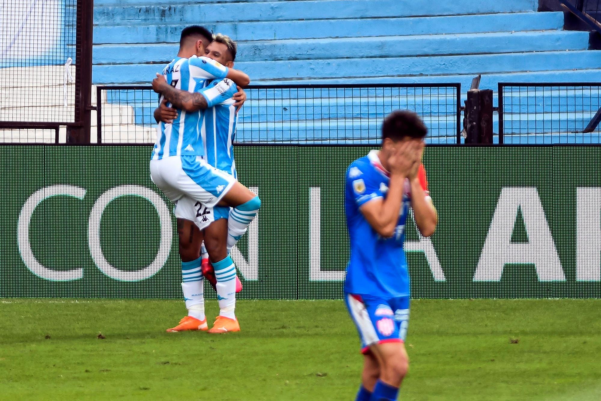 Racing le ganó 1-0 a Unión: su primer triunfo llegó en el debut de la Copa Diego Maradona
