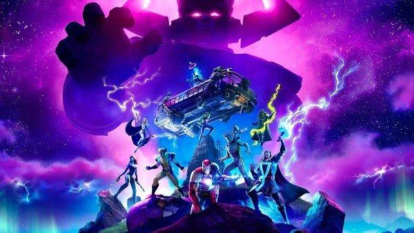Evento Fortnite vs. Galactus: el juego cerró la temporada con los superhéroes de Marvel y se terminó cayendo por la cantidad de usuarios conectados