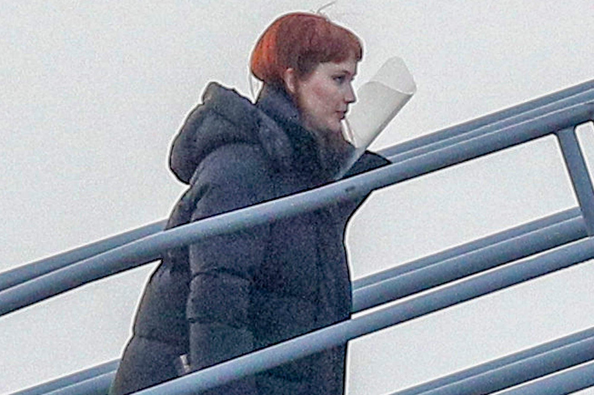 Las primeras imágenes de Jennifer Lawrence y Leonardo DiCaprio en el rodaje de Don´t Look Up