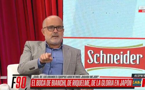 """Daniel Arcucci: """"Riquelme no entra entre los 10 mejores del fútbol argentino"""""""