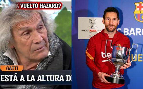 """Para Gatti no hay comparación: """"A Maradona lo mataban a patadas y a Messi le dan besos"""""""