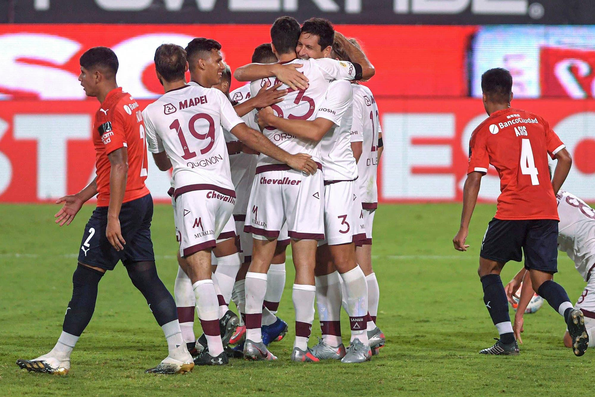 Independiente – Lanús: el Granate fue superior y derrotó al Rojo en el arranque de la Copa de la Liga 2021